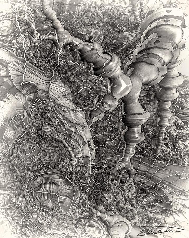 Nervous Energy by EricTonArts