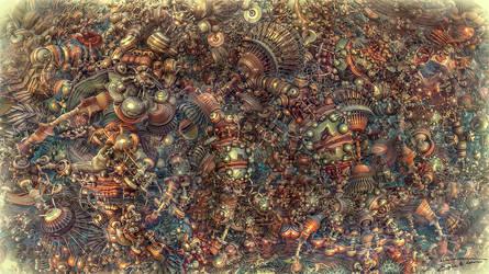 Steampunk Symphony by EricTonArts