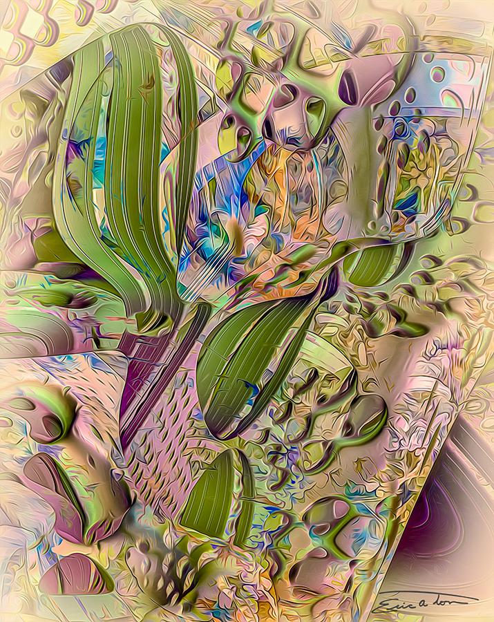 Morning Cactus by EricTonArts