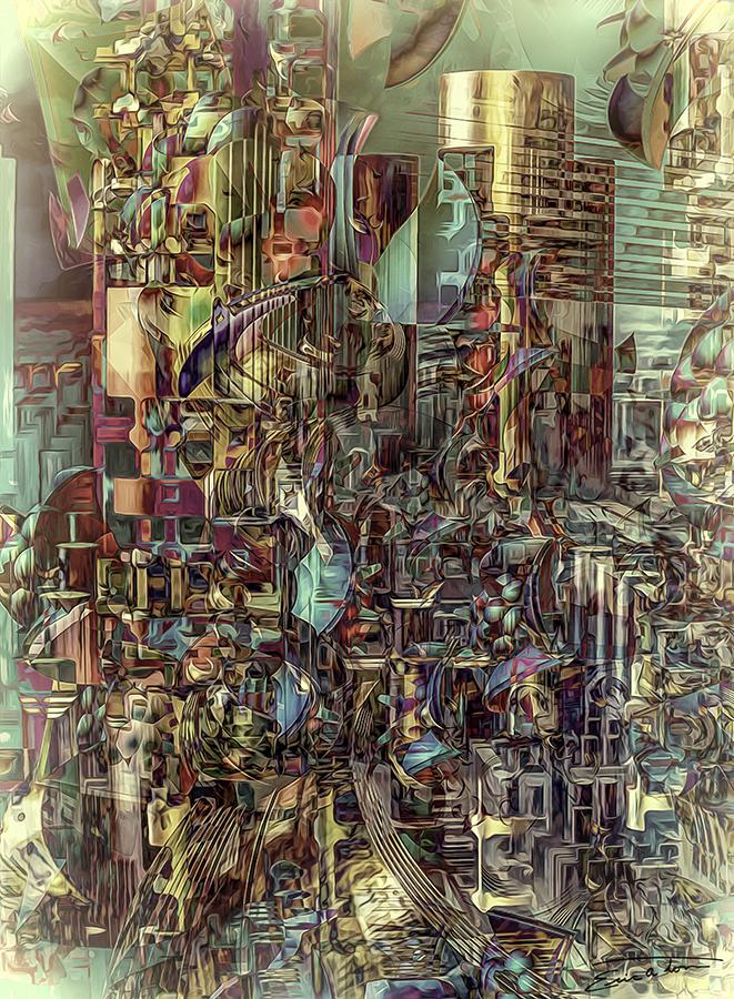 City Of Beliefs by EricTonArts