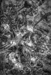 Caltrops VI by EricTonArts
