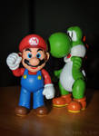 Jakks Pacific 2014: Super Mario and Yoshi