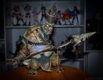 Blizzard 2009: World of Warcraft Tuskarr figure