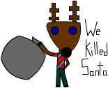 Reindeer the Killer by Vulkingzor