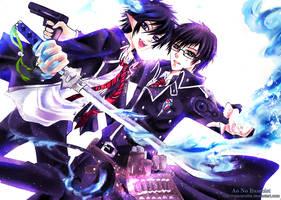 Rin and Yukio: Take Off by NilaNandita