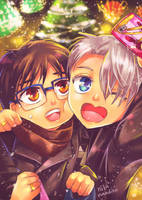 Merry Christmas and HBD, Victor.