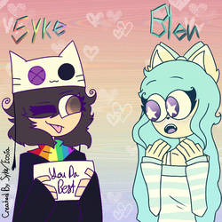 Me and Bleu sksksk by Eosia