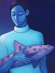 the shark god by Deuil
