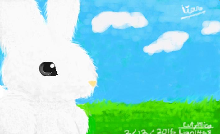 Realistic-Cartoon Bunny V.2.0 by Cutylilian