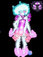 Space Alien Girl Design by SoulFullofLove