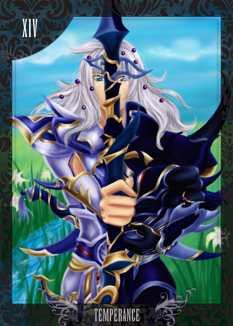 Xiv Temperance Balance Archangel Zadkiel: Temperance By Arivess By Dissidia-arcana On DeviantART