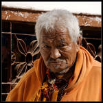 Nepali Elder by didumdidum