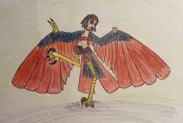 Harpy Sketch 034 by Dice-Warwick