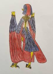Harpy Sketch 036 by Dice-Warwick