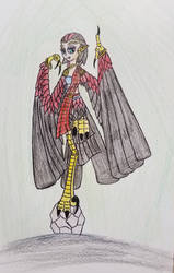 Harpy Sketch 039 by Dice-Warwick