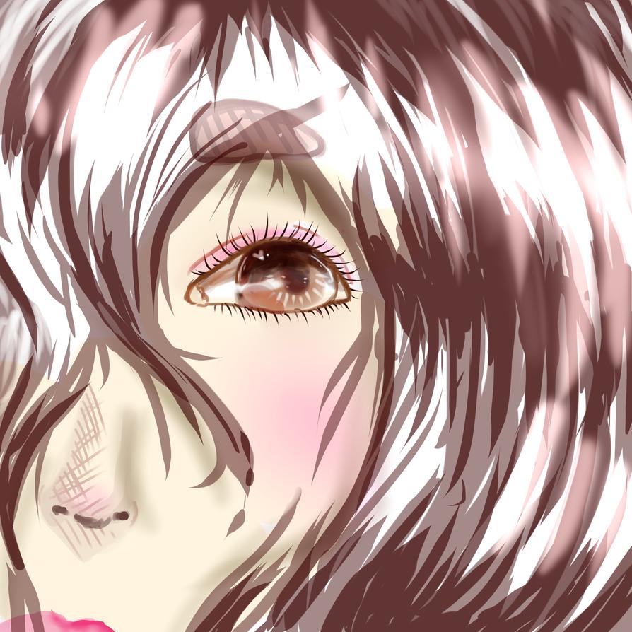 face Anime shy