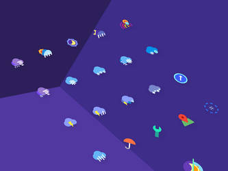 Weather M Icons by creatiVe5