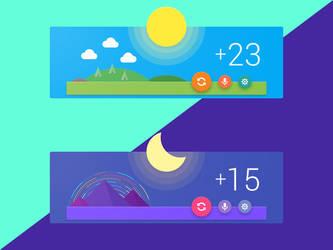 M Weather Widget by creatiVe5
