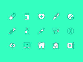 Medical icons by creatiVe5