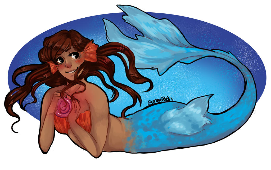 Under the Sea [Speedpaint in description] by amarilloh