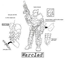 The Villain, Warclad by Kagehiisa