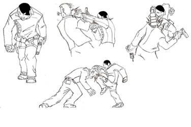 Shackle's Fighting Style... by Kagehiisa