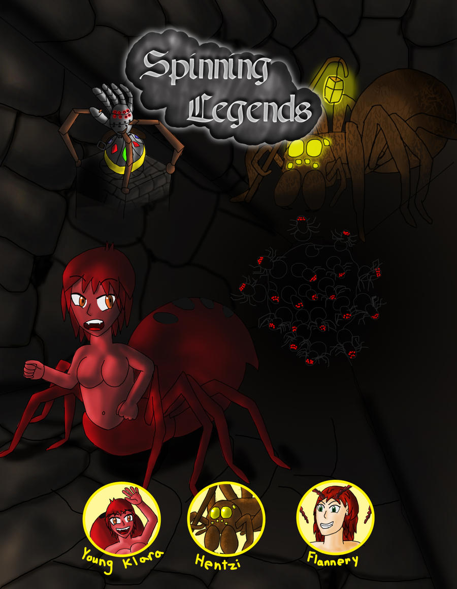 Cover: Spinning Legends by racemaster7 on DeviantArt