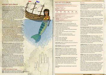 Kelsey: Dungeons and Dragons 5e by racemaster7