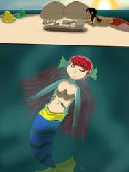[felaryacontest] Mermaid Island by racemaster7