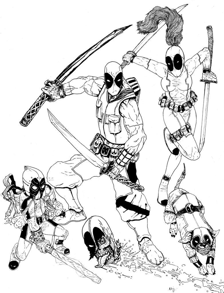 Deadpool Corp by KidneyTheft