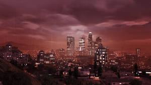Raining Skyline