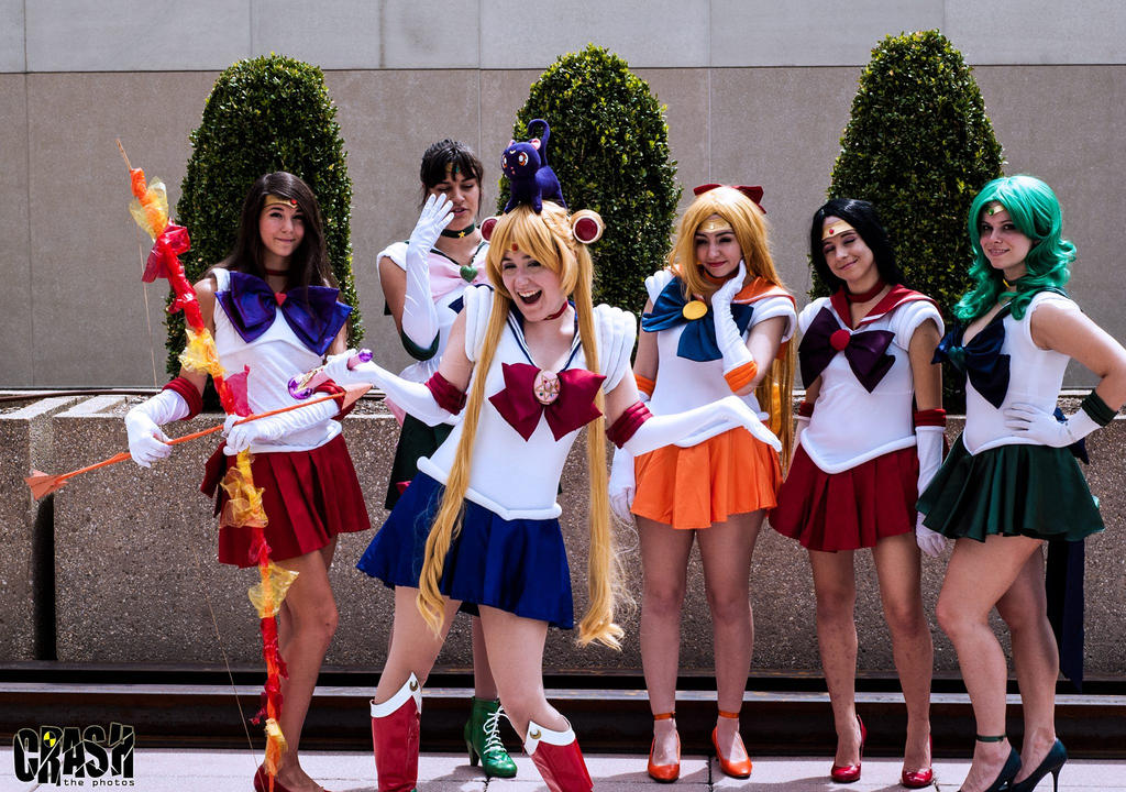 Sailor Moon - We're Champions of Justice by Nyxiie