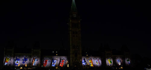 Northern Lights: Flags of Confederation by OwlFeatherPhotos