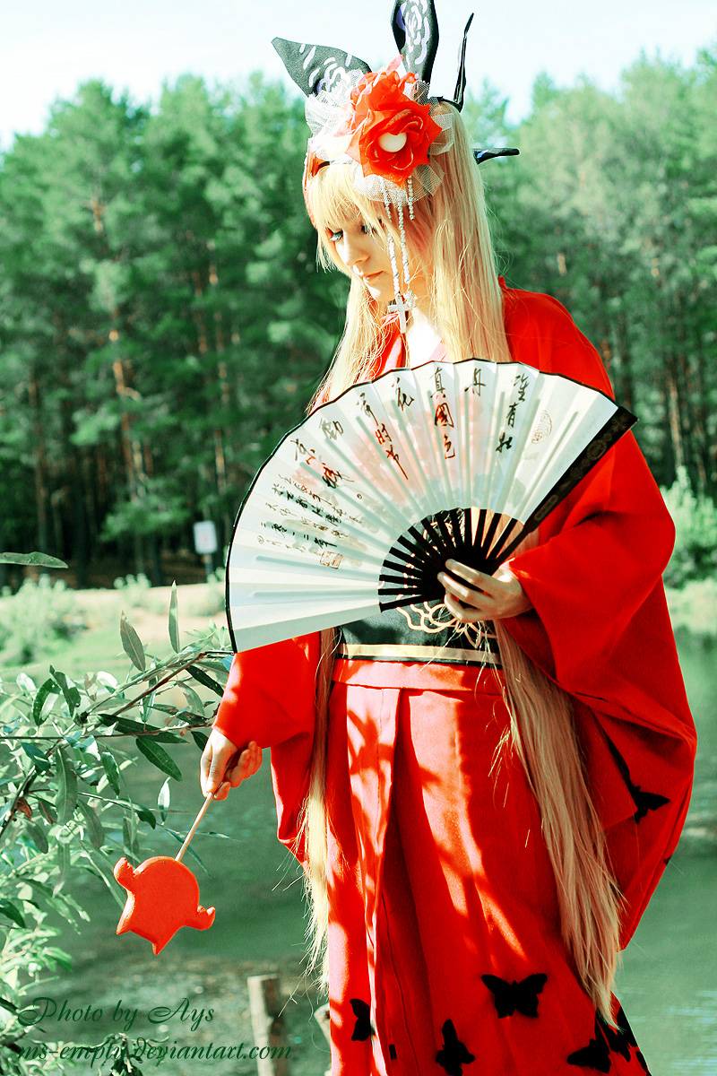 Rachel Alucard Kimono ver/1 by ms-empty