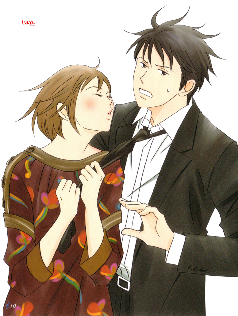 Nodame and Chiaki Render Nodame Cantabile by Hikari-Luna