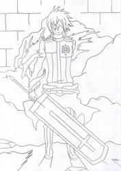 allen walker sword form