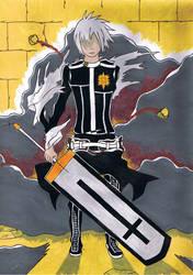 allen walker sword form final