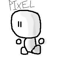 Pixel the guy by Author-Goddess