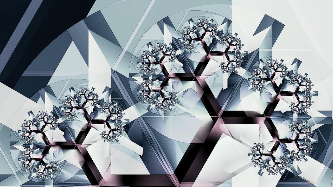 Crystal Koch by fractalfiend