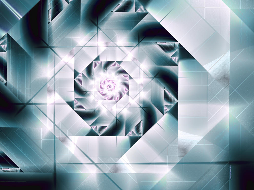 Barnsley Spiral By Fractalfiend On DeviantArt
