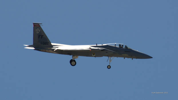 F15 Landing