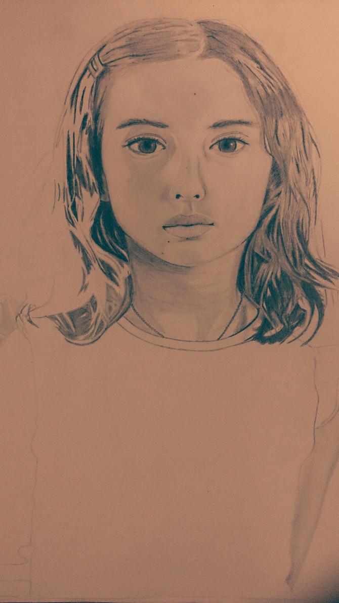 Girl portrait by TokyoRashad
