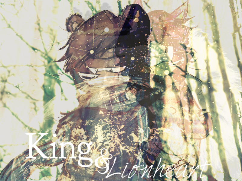 King and Lionheart by RydeKnight