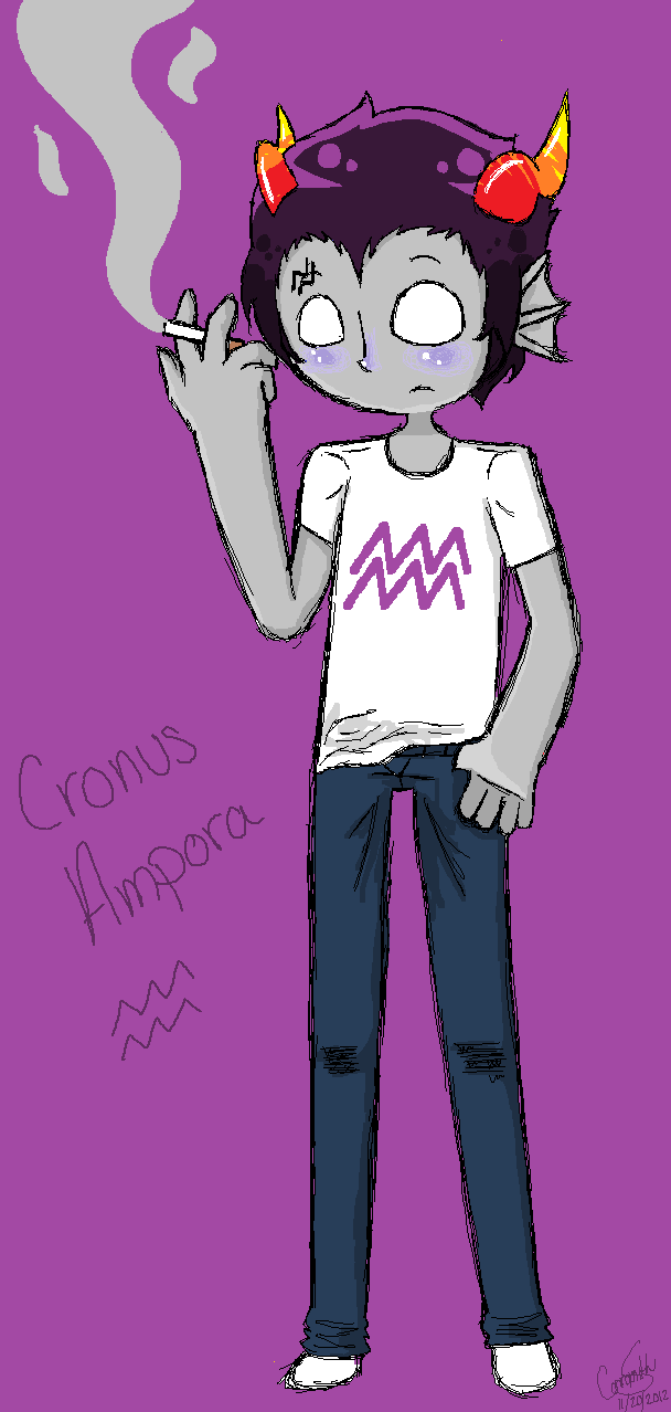 Homestuck mituna cronus