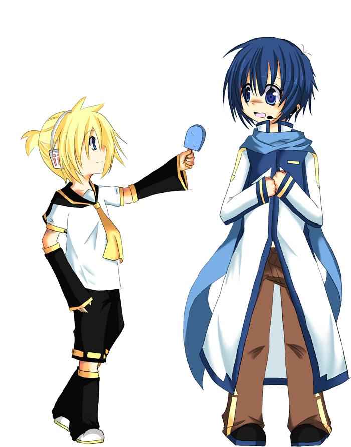 Vocaloid: Icecream? by RainbowMaple