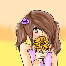 Flower by bluekitti