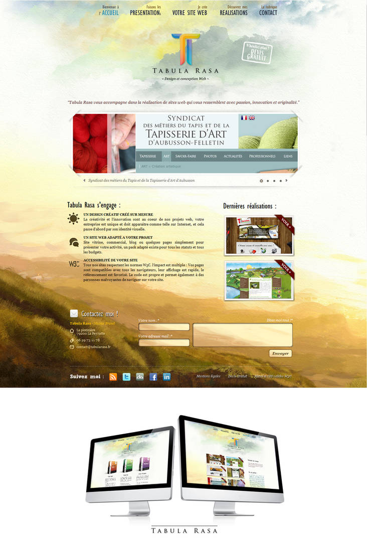 Tabula Rasa Web Site