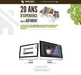 francois soulet website by TabulaRasaStudio