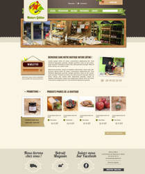 Nature gatine Website