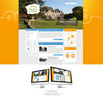 Mairie de Mazieres en Gatine Website by TabulaRasaStudio